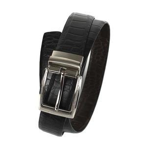 Läderbälte The Monte Vändbar 34 mm brun/svart