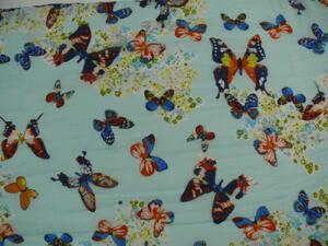 Chiffonscarves fjärilar