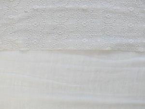 Storsjal Enfärgad med spets