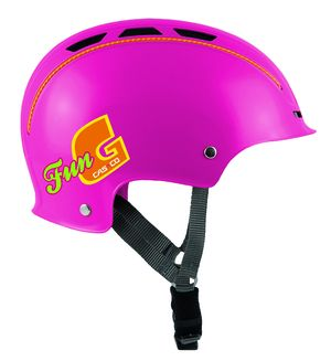 Casco barnhjälm Fun-generation (Cerise)