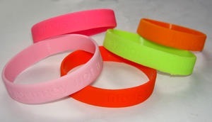 Helgjutet gummi armband 5-pack