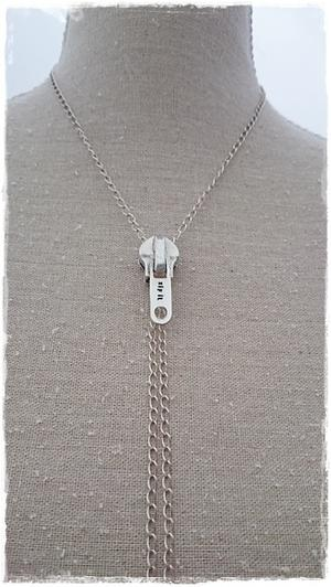 Dragkedja halsband