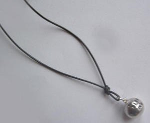 Silverbullet necklace