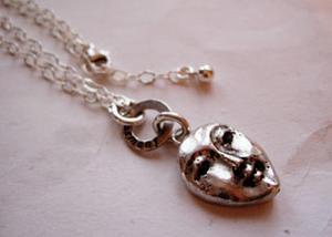 Halsband Harmony med silverkedja