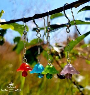Örhänge blomklockor