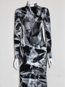 LILITH-dress black/white