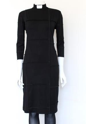 NO-WASTE--dress black