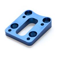 Förvinklad (5°) Aluminium Kil