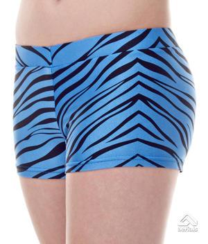 Zebra Booty Shorts