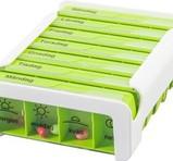 ANABOX 7 Dagar 5 Dosfack/dag GREEN