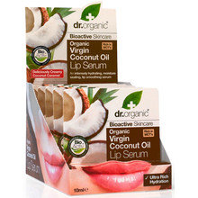 Dr Organic Virgin Coconut Oil Lip Serum 10ml