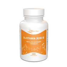 Alpha Plus D3 vitamin 3000 IE + K2 180st