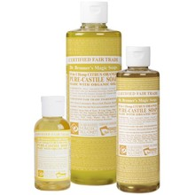 Dr. Bronner's Citrus PureCastile Liquid Soap 59ml EKO