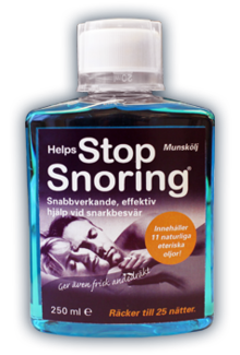 Helps Stop Snoring munskölj 250ml