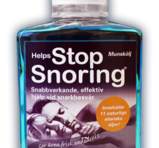 Helps Stop Snoring munskölj 250ml