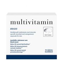 New Nordic Multivitamin För Män 90st