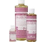 Dr. Bronner's Rose PureCastile Liquid Soap 236ml EKO