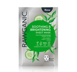 Rawganic Soothing and Brightening Sheet Mask Organic
