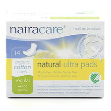 Natracare Binda Natural Reg. Ultratunna Vingar 14st EKO