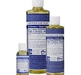 Dr. Bronner's Peppermint PureCastile Liquid Soap 59ml EKO