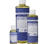 Dr. Bronner's Peppermint PureCastile Liquid Soap 236ml EKO
