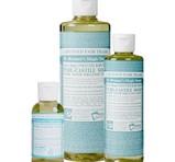 Dr. Bronner's Baby Unscented PureCastile Liquid Soap 473ml EKO