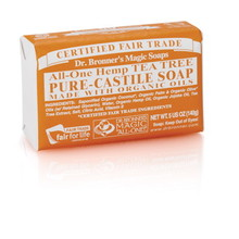 Dr. Bronner's Tea Tree PureCastile Bar Soap 140g EKO