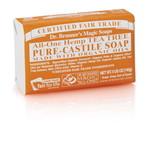 Dr. Bronner's Tea Tree PureCastile Bar Soap 140g EKO