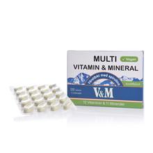 Nyform V&M Multivitamin & Mineral med Spirulina 120st