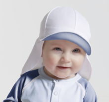 Sunseal Flap Hat UPF 50+ Ljusblå/Aqua