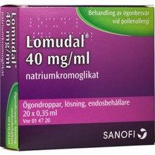 LOMUDAL 40mg/ml 20st Pipetter