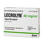 LECROLYN 40mg/ml 60X0,25ml pipetter