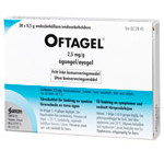 OFTAGEL 2,5mg/g Endospipetter 30X0,5g