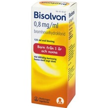 BISOLVON Oral lösning 0,8 mg/ml 125 ml