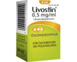 LIVOSTIN ögondroppar 0,5 mg/ml