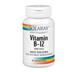 Solaray Vitamin B-12 1000mcg 90st sugtab