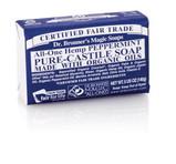 Dr. Bronner's Peppermint PureCastile Bar Soap 140g EKO