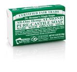 Dr. Bronner's Almond PureCastile Bar Soap 140g EKO