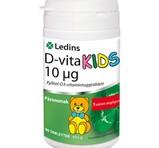 Ledins D-vitamin 10µg Kids 90st tuggtabletter