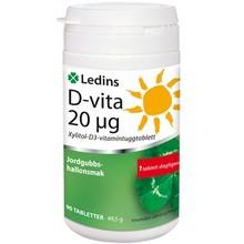 Ledins D-vitamin 20µg 90st tuggtabletter