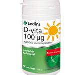 Ledins D-vitamin 100µg 90st tuggtabletter