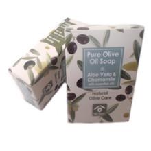 BIOesti Olivtvål Aloe Vera & Kamomill 100g