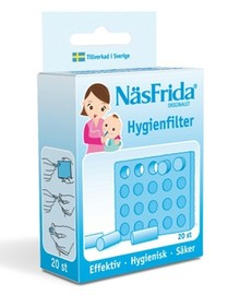 NÄSFRIDA Hygienfilter 20st