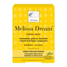 New Nordic Melissa Dream 120st
