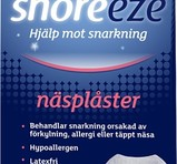 Snoreeze Nasalstrips Small/Medium 10st