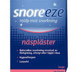 Snoreeze Nasalstrips Large 10st