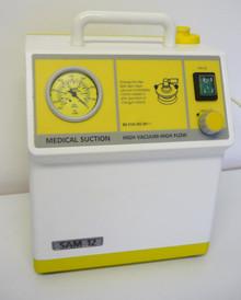 Sam 12 Medicinsk Sug - Högt flöde - Högt vakuum - Begagnad