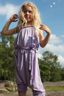 Jumpsuit Sommar, lila 6 mån