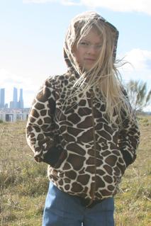 Hoodie, giraff