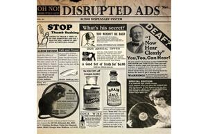 Oh No-Disrupted Ads (+ 7inch) / KASHROC
